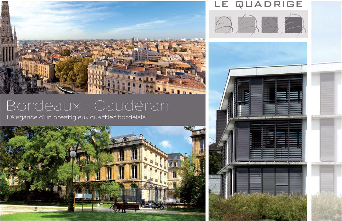 Le quadrige bordeaux quartier caud ran for Bordeaux cauderan immobilier