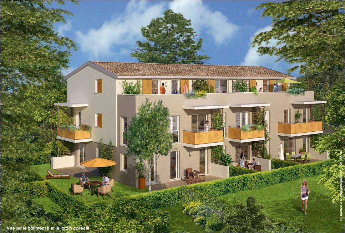 Investir dans l'immobilier, Les Cèdres Charbonnières-les-Bains avec son Jardin collectif