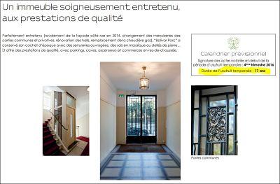 Investir Paris 19 Bolivar un investissement en n ue-propriété